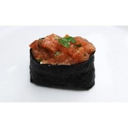 Tartare saumon cru