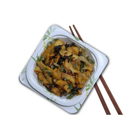 Salade calamars légumes