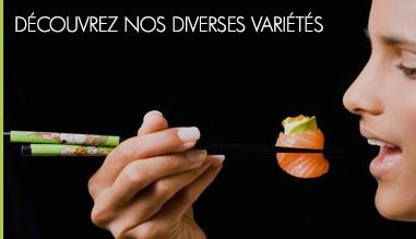 Faites-vous plaisir avec nos sushis