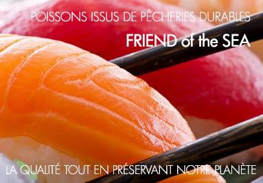 Du poisson provenant uniquement de la pêche durable